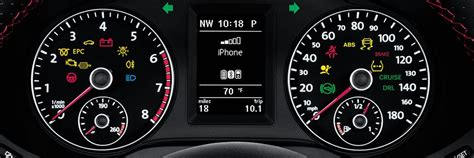 volkswagen dashboard lights  warning icons