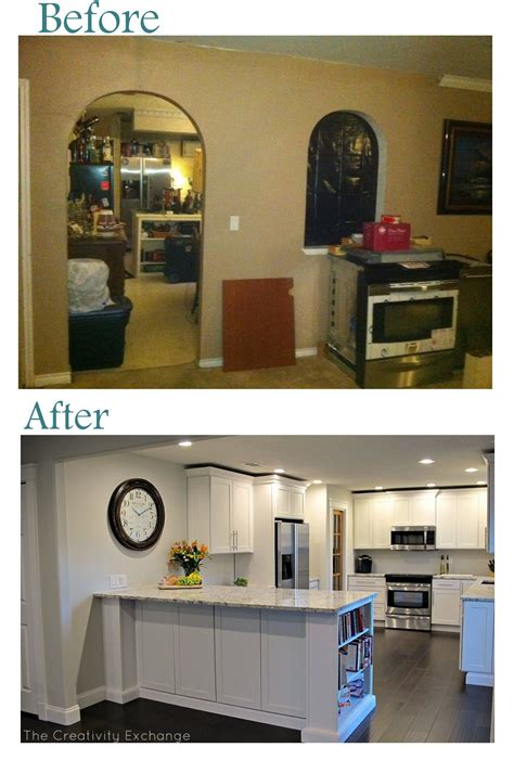 Opening Up A Kitchen Before And After Cousin Frank S Amazing Kitchen Remodel Before After
