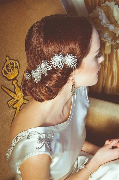 Wedding Hair Accessories Southton by 10 Vintage Wedding Hair Styles Inspiration For A 1920s