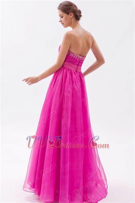fuchsia color dress pretty sweetheart fuchsia evening dress