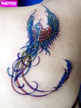 girly phoenix tattoos phoenix tattoo