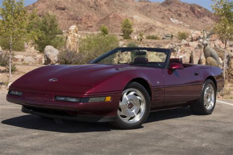 airbag deployment 1993 chevrolet corvette engine control show quality 1993 corvette convertible 40th anniversary 6 speed rare find ruby classic