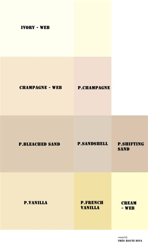 Color Crema Pantone my whites pantone p and web web reference colors