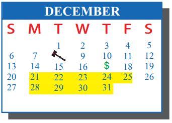 Cisd School Calendar De La Vina Elementary School District
