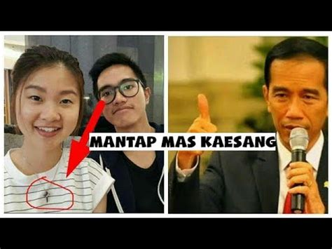 profil anak jokowi kaesang pangarep terungkap pacar kaesang pangarep putra jokowi presiden