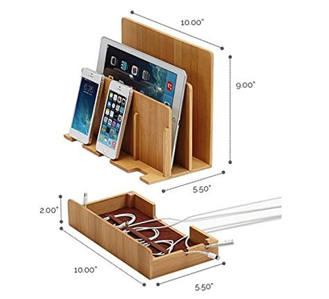 charging station organizer for multiple devices g u s multi device charging station dock organizer
