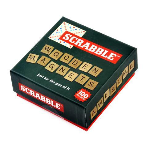 scrabble di scrabble di legno magnete frigorifero set ebay