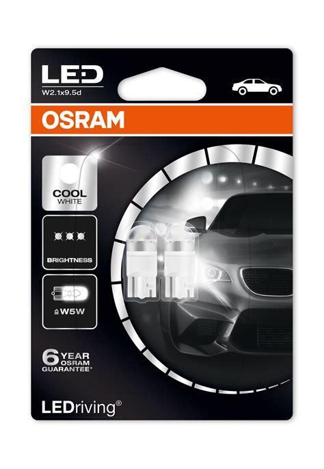Osram Led Bulb 9 5w 2 x osram w5w 501 t10 led 6000k high quality new