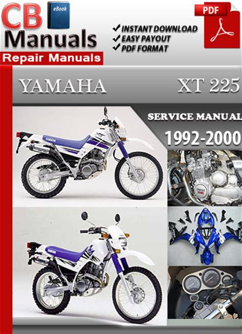 service manual auto repair manual free download 1992 toyota land cruiser security system yamaha xt 225 1992 2000 service repair manual ebooks automotive