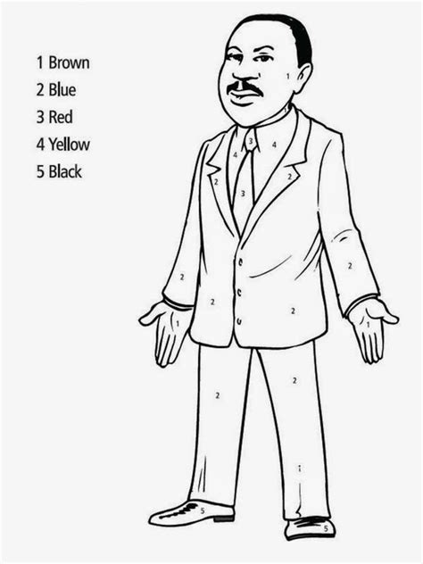 Print Martin Luther King Jr Coloring Pages For Kids Martin Luther King Coloring Pages For Kindergarten