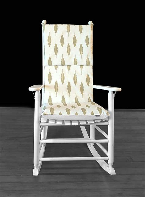 Gold Rocking Chair Cushions 17 best ideas about rocking chair cushions on rocking chairs upholstered rocking