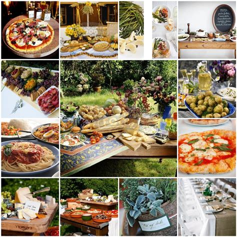 Hochzeitsessen Buffet by Of All The Colors Of The Spectrum Italian Wedding