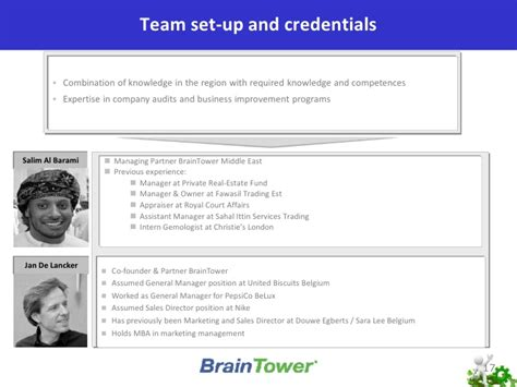 Mba Hr In Middle East by Hr Brain Tower Middle East