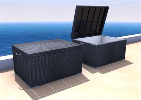 Outdoor Storage Bench Waterproof Outdoor Waterproof Storage Bench With Seating Home