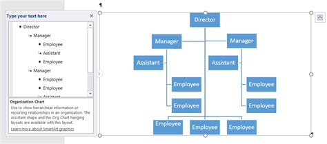smartart templates for word how to create an organization chart using smartart in word