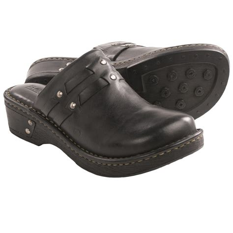 clogs for womens born dezi leather clogs for in black