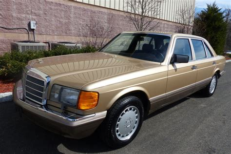 1986 Mercedes 420sel by 31k Mile 1986 Mercedes 420sel For Sale On Bat