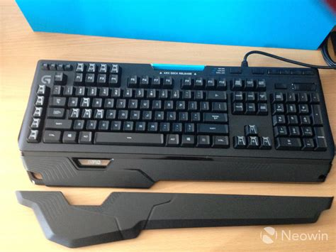Keyboard Logitech G910 logitech g910 spark mechanical gaming keyboard unboxing and impressions