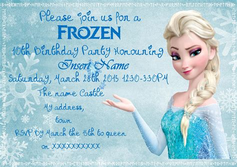 printable invitation frozen free printable frozen invitations theruntime com