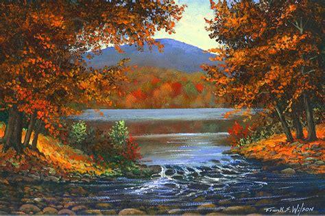 imagenes de paisajes en oleo cuadros modernos pinturas y dibujos paisajes con lagos