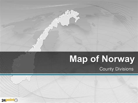 Powerpoint Themes Norway | norway 100 editable powerpoint map