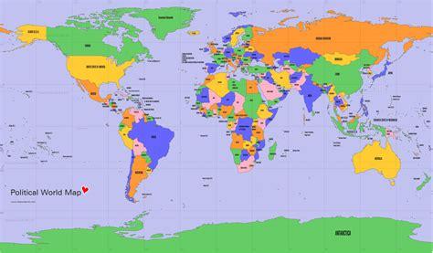 free world map free world map