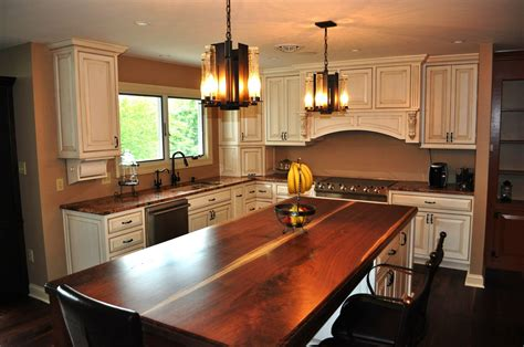 Moveable Kitchen Island by Custom French Country Style Kitchen By London Grove