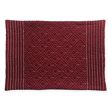 bed bath and beyond placemats quilted placemat in burgundy bed bath beyond