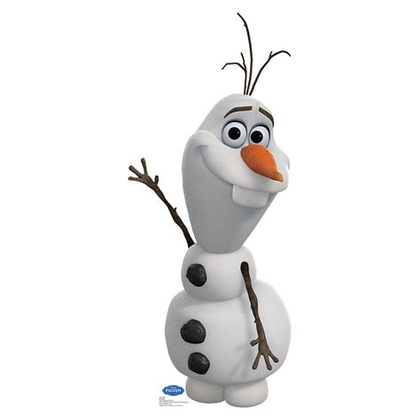 Frozen Olaf disney frozen olaf lifesized standup