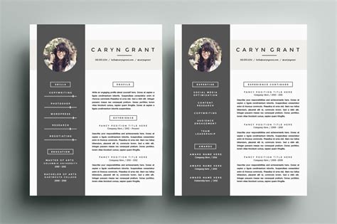 Well Designed Resumes by 70 Well Designed Resume Exles For Your Inspiration