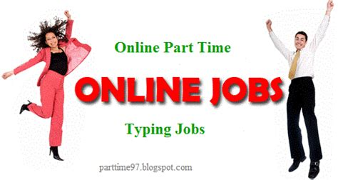 Online Part Time Work From Home - part time online jobs work from home jobs without