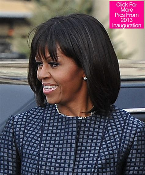 michaele obama ware hair weave michelle obama s hair at the 2013 inauguration shiny