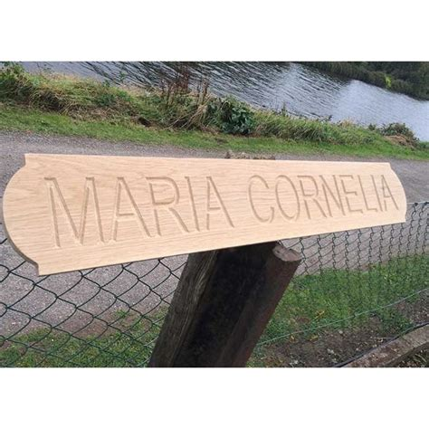 wooden boat name plaques engraved boat name plates
