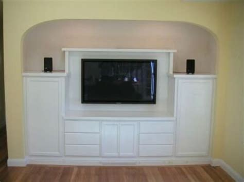 Flat Screen Tv Wall Cabinets by Custom Tv Cabinets Design Bookmark 3740