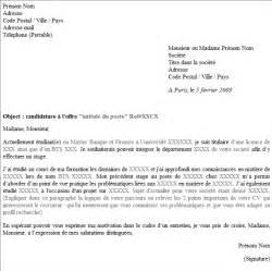 Curriculum Vitae Usa by Mod 232 Les Et Exemples Lettre De Motivation Directe Et