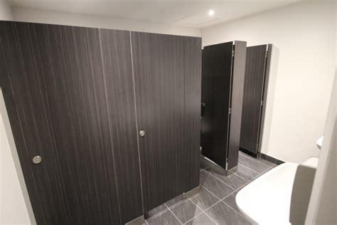 Kermac Industries Deliver Upscale Toilet Cubicle System