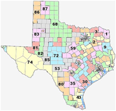 texas representatives map texas state representatives map my