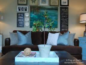 Diy living room gallery wall a pop of pretty blog canadian home