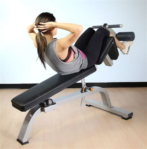 adjustable decline bench muscle  fitness