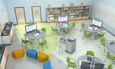 classroom layout options stem lab by paragoninc com 21stcenturyclassroom 21st