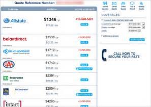 insurance quote on new car auto insurance quote comparison tool