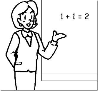 imagenes a blanco y negro de matematicas dibujos de maestras para colorear