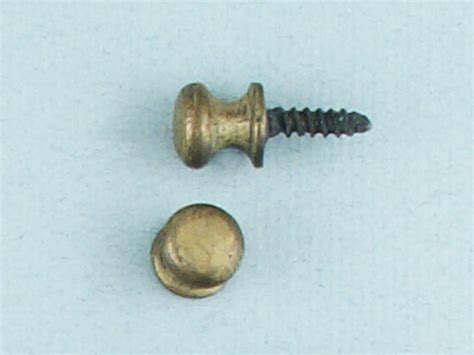 Tiny Knobs Small Knob C15 Optimum Brasses