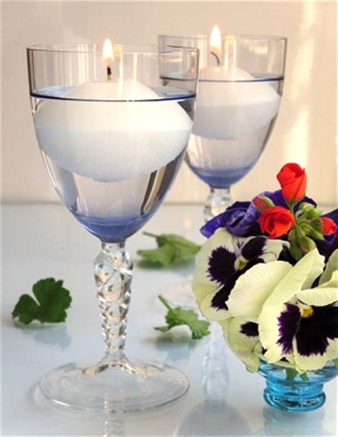 wine birthday candle wine glass candle holders