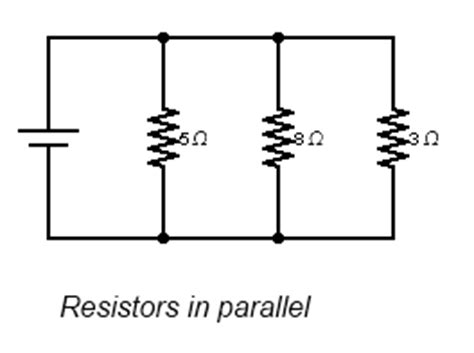 resistors connected in parallel circuit robo math myprojectfun
