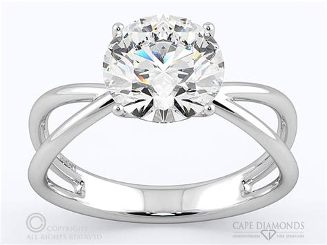 solitaire engagement wedding ring collection cape diamonds