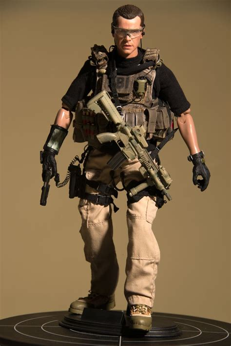 1 6 Army Shorts Untuk Toys Hottoys fbi hrt my take part 1 osw one sixth warrior