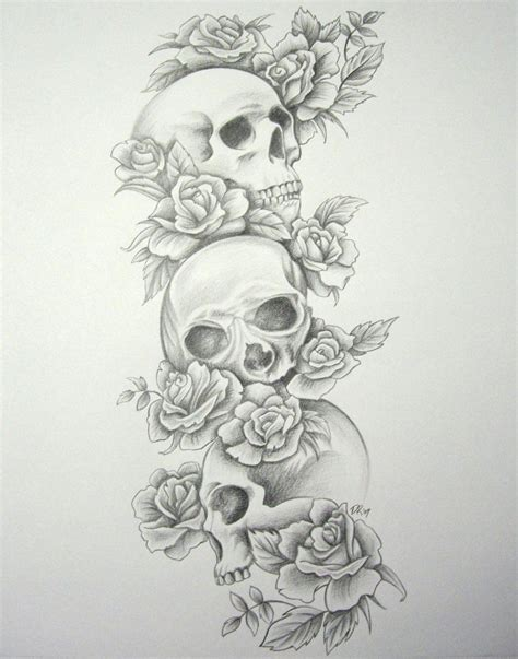 skull and rose tattoo sleeve cowboy designs cowboy hat tattoos cowboy skull