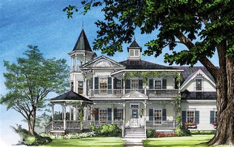 victorian farmhouse plans farmhouse southern victorian house plan 86291
