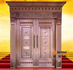 main entrance door security copper double door design main entrance door